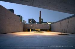 Museo Can Framis de Jordi Badia BAAS. Fotografia de arquitectura de Simon Garcia arqfoto
