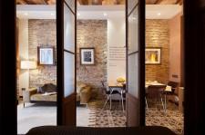 Apartamentos 'Casa de les Lletres' en Barcelona. Fotografia de arquitectura de Simon Garcia arqfoto