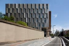 Centro Socio Sanitario Lesseps. Fotografia de arquitectura de Simon Garcia arqfoto