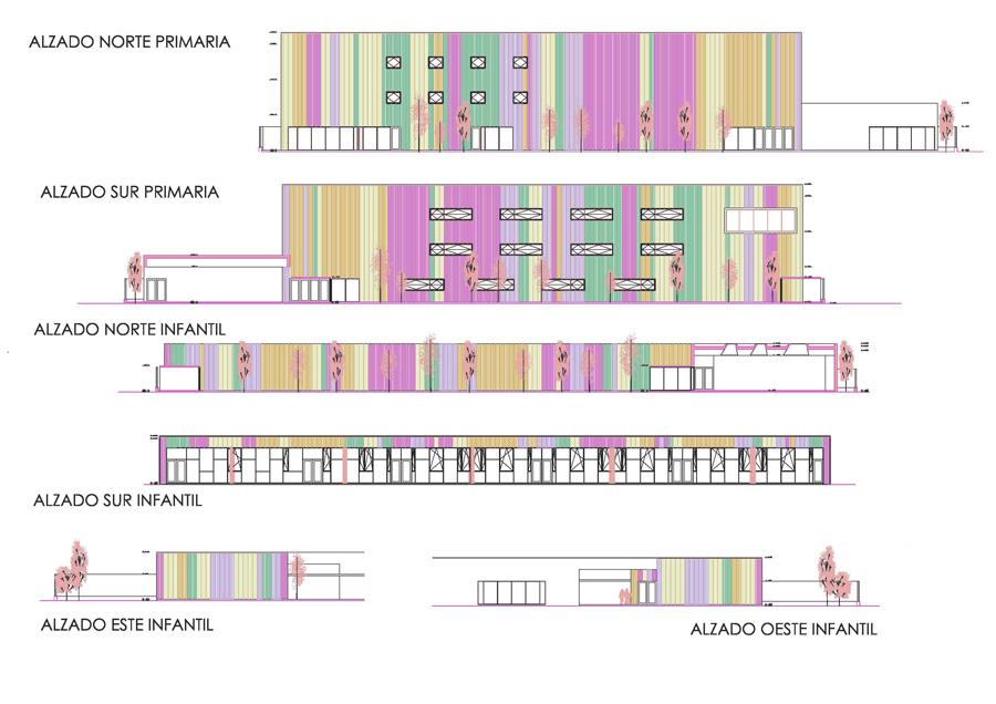 Colegio en Ejea de los Caballeros. Fotografia de arquitectura de Simon Garcia arqfoto