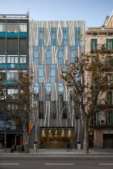 Hotel AKO en Barcelona. Foto de arquitectura de Simon Garcia arqfoto