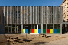 Colegio Acacies. Foto de arquitectura de Simon Garcia arqfoto