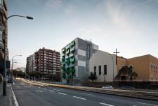 Viviendas Santa Madrona 'La Caixa'. Foto de arquitectura de Simon Garcia arqfoto