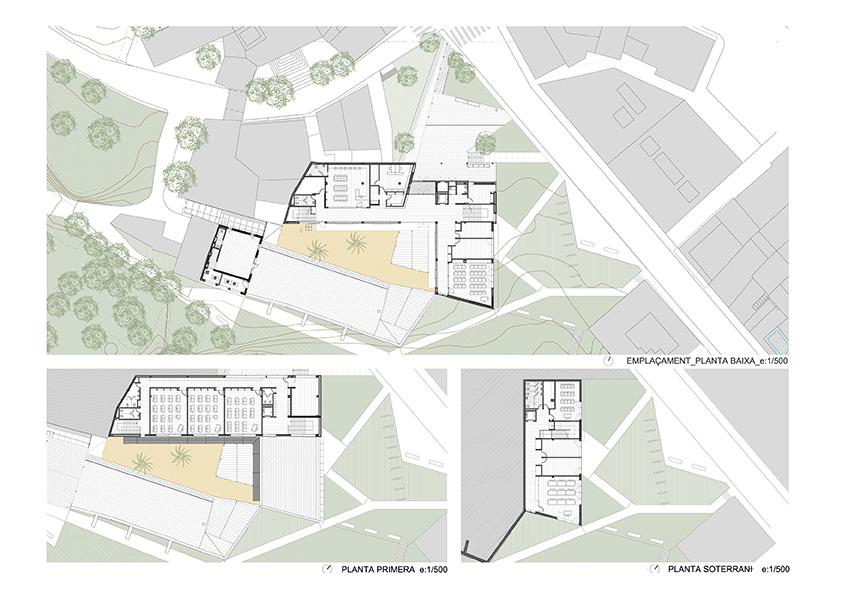 Reportaje fotografia arquitectura equipamiento can baruta for Equipamiento urbano arquitectura pdf