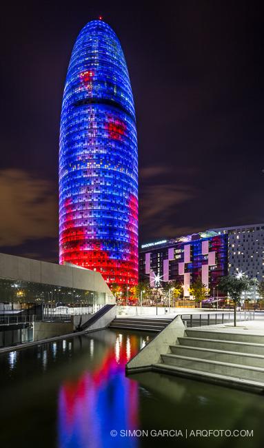 Reportaje De Fotografia De Arquitectura De La Torre Agbar