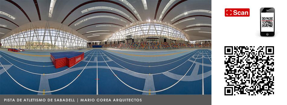 fotografia de arquitectura 1015_360-Pista Atletismo Sabadell
