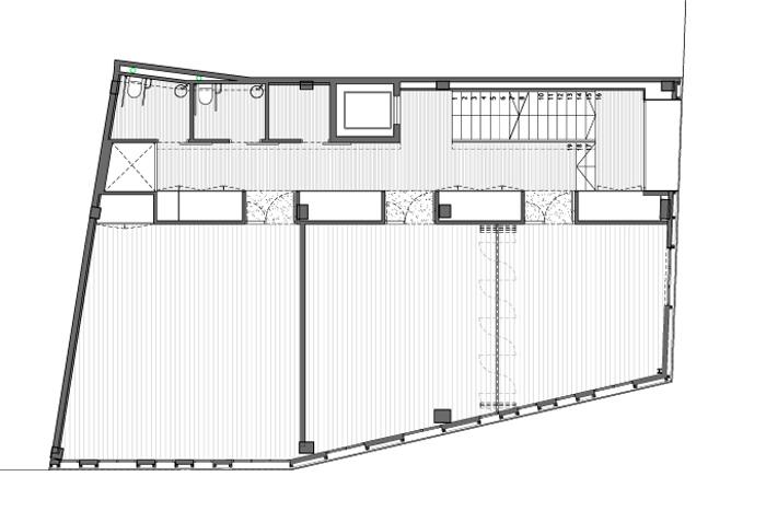 fotografia de arquitectura centro-social-ca-lanita-roses-planta-piso