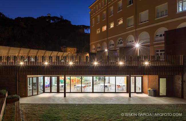 Reportaje de fotografia de arquitectura del colegio - Colegio delineantes barcelona ...