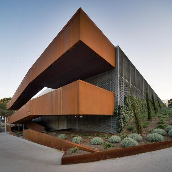 Reportaje fotografia arquitectura aparcamiento calella - Fotografia arquitectura ...