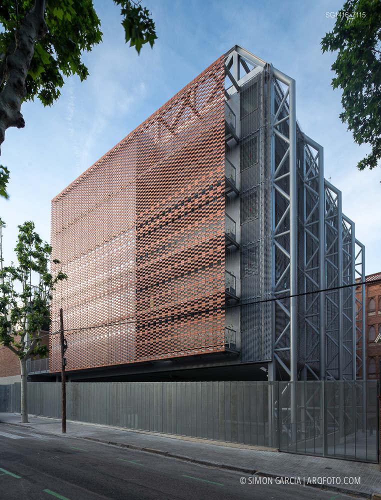 Reportaje de fotografia de arquitectura del colegio Teresianas ...