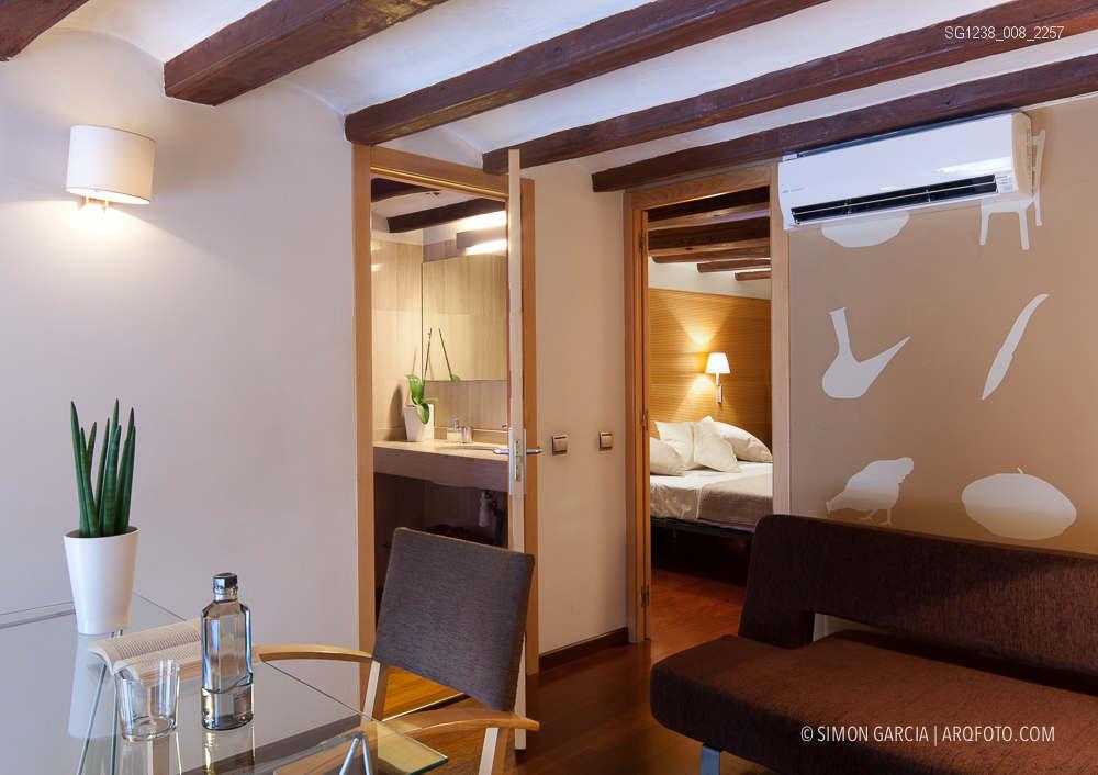 Fotografia de Arquitectura Apartamentos-Casa-de-les-Lletres-AAGF-arquitectos-SG1238_008_2257