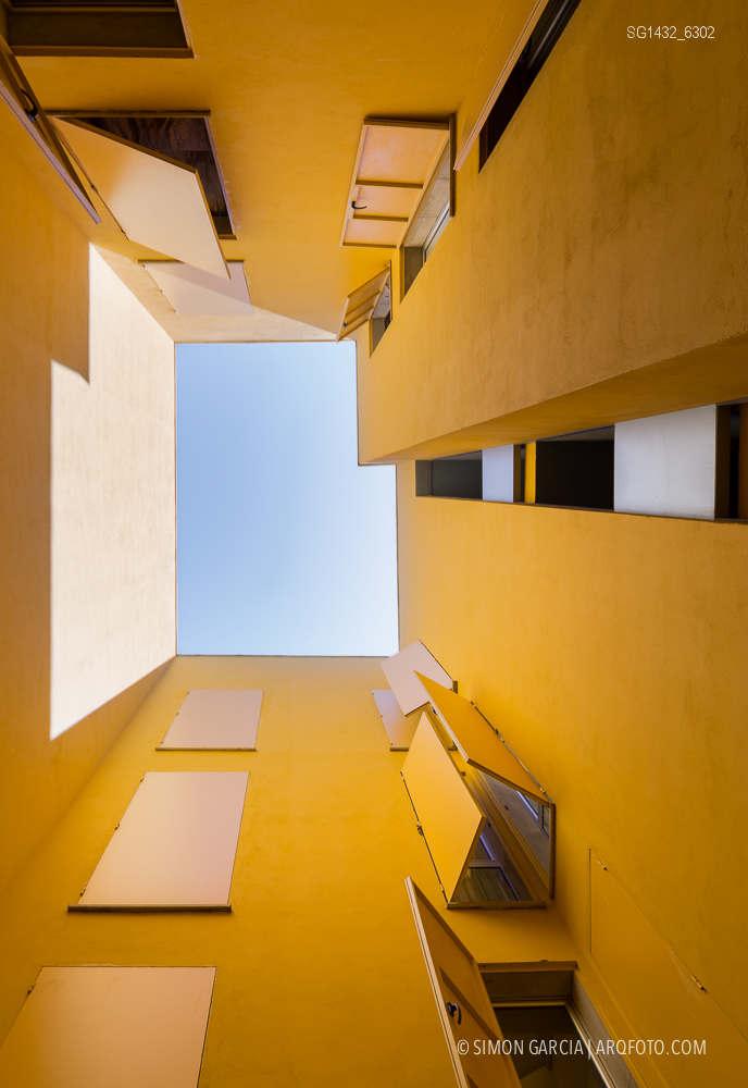 Fotografia de Arquitectura Bloque-viviendas-8-casas-y-3-patios-Las-Palmas-de-Gran-Canaria-Romera-Riuz-arquitectos-SG1432_6302