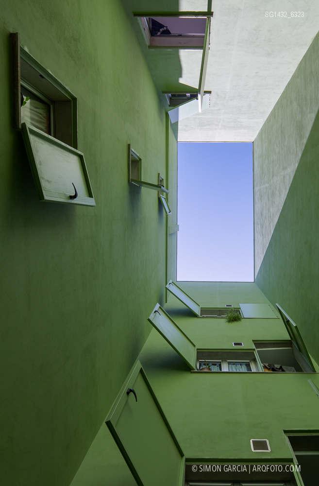 Fotografia de Arquitectura Bloque-viviendas-8-casas-y-3-patios-Las-Palmas-de-Gran-Canaria-Romera-Riuz-arquitectos-SG1432_6323