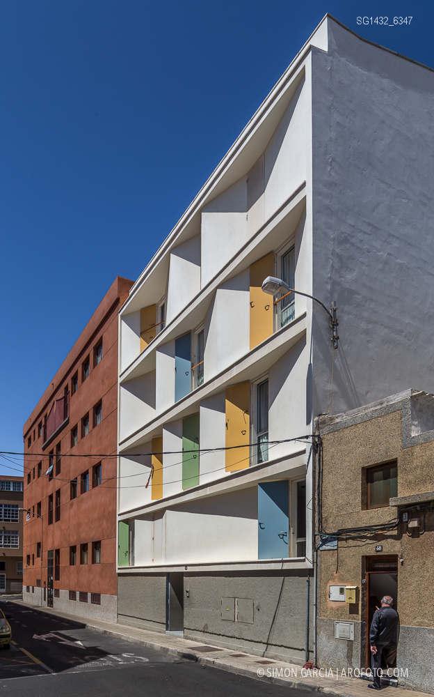 Fotografia de Arquitectura Bloque-viviendas-8-casas-y-3-patios-Las-Palmas-de-Gran-Canaria-Romera-Riuz-arquitectos-SG1432_6347