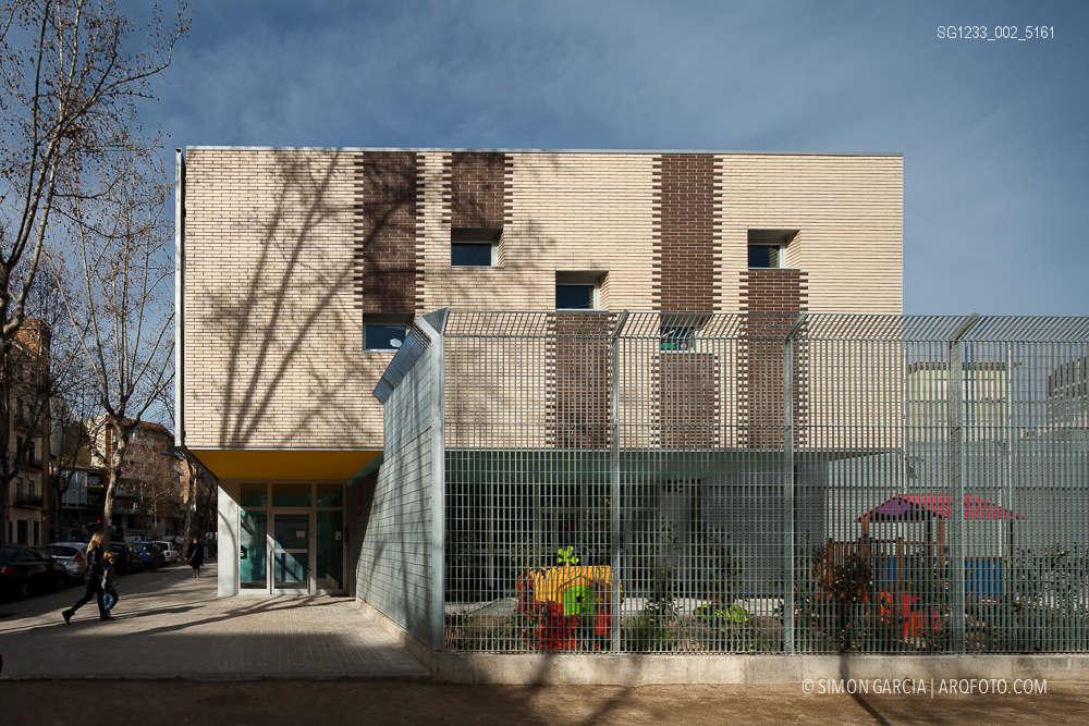 Colegio Acacies   Barcelona – Simón García   arqfoto