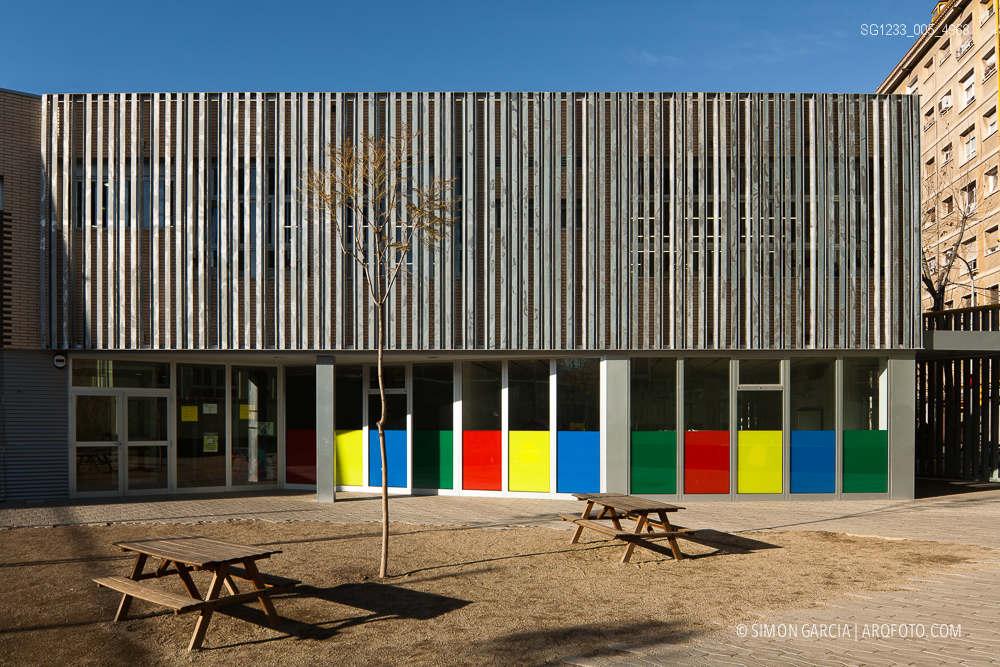 Colegio acacies barcelona sim n garc a arqfoto - Colegio arquitectos barcelona ...
