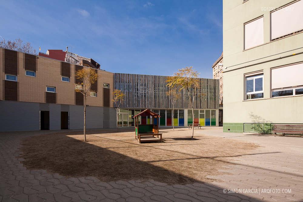 Colegio acacies barcelona sim n garc a arqfoto - Escuela de arquitectura de barcelona ...