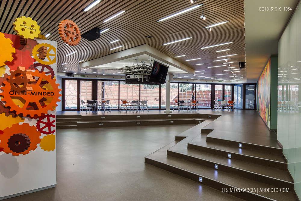 Reportaje de fotografia de arquitectura del colegio - Colegio arquitectos barcelona ...