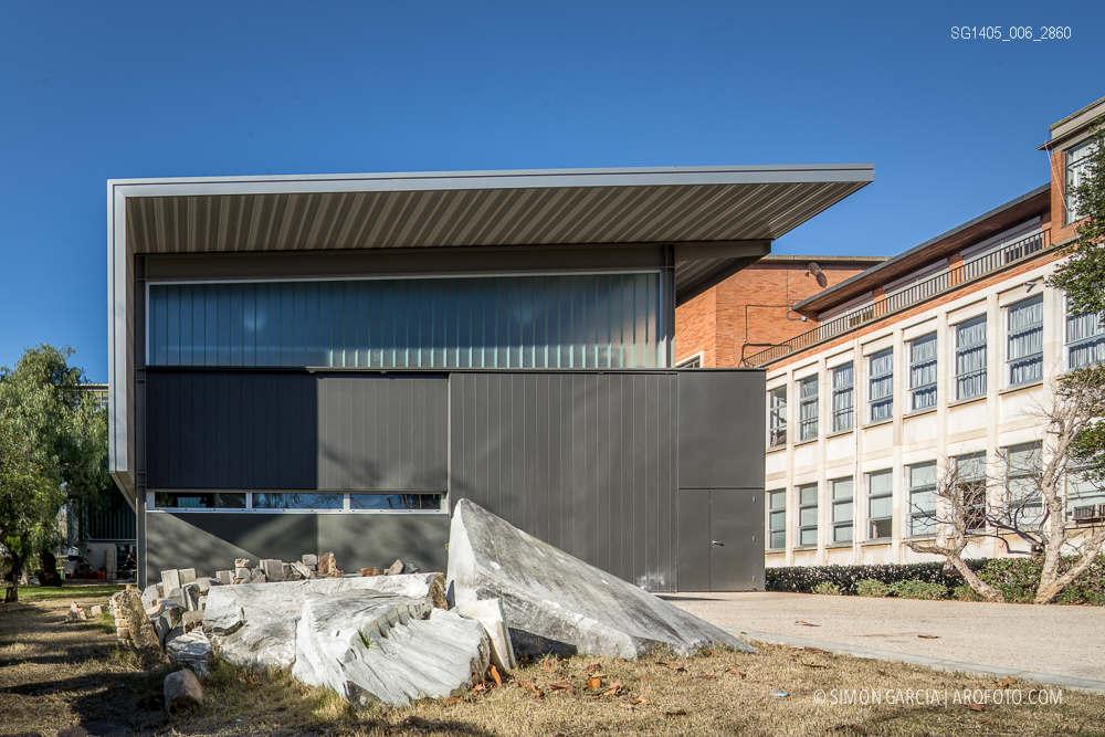 Fotografia de Arquitectura Taller-piedra-metal-Bellas-Artes-Forgas-arquitectes-SG1405_006_2860