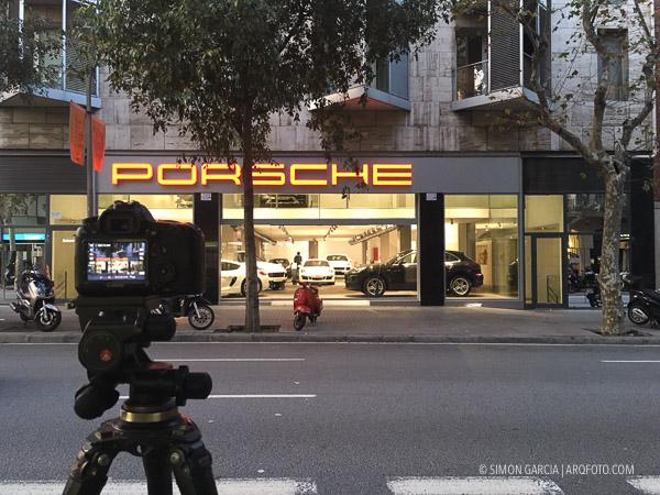 Fotografia de Arquitectura Porsche-making-of