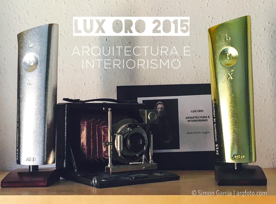 Fotografia de Arquitectura Trofeo-Lux-oro-2015