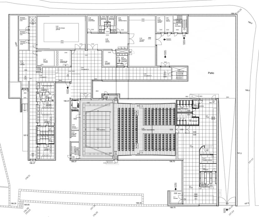 Fotografia de Arquitectura Auditorio-Llinars-Siza-doc-01