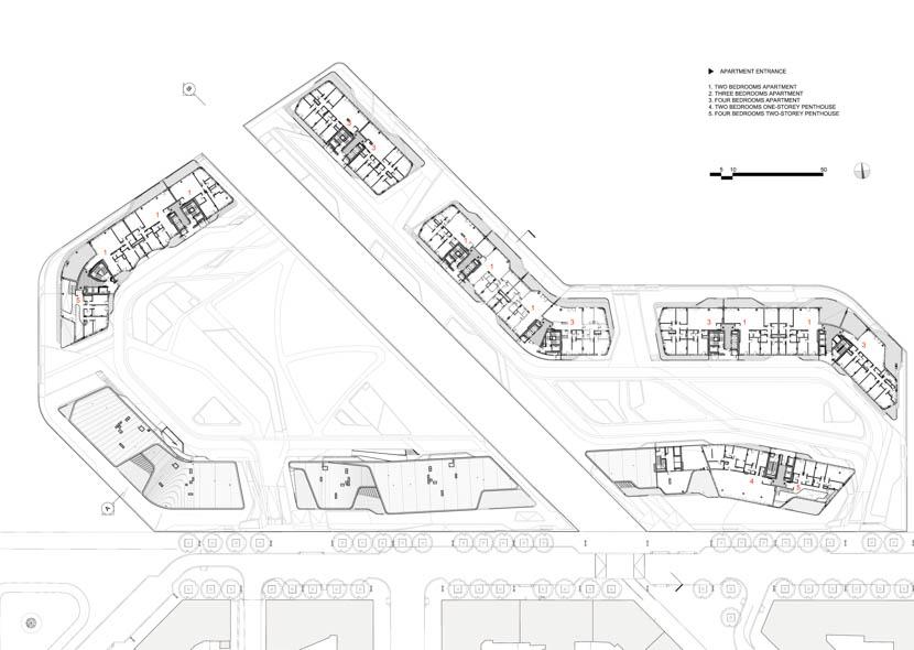 Fotografia de Arquitectura City-Life-Milano-Residential-Complex-Zaha-Hadid-doc-03