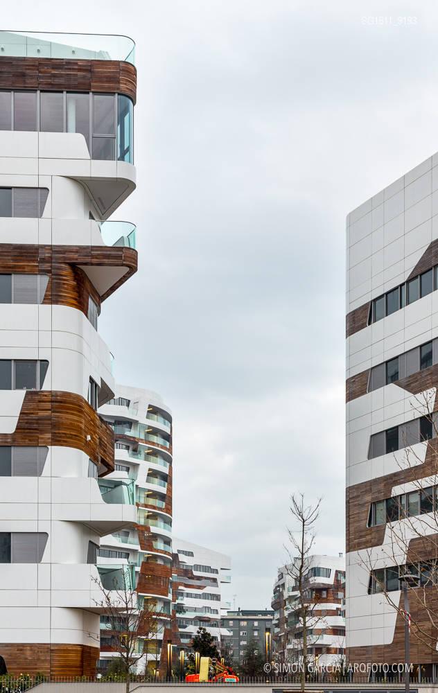 City Life Milano Residential Complex Zaha Hadid Sim 243 N