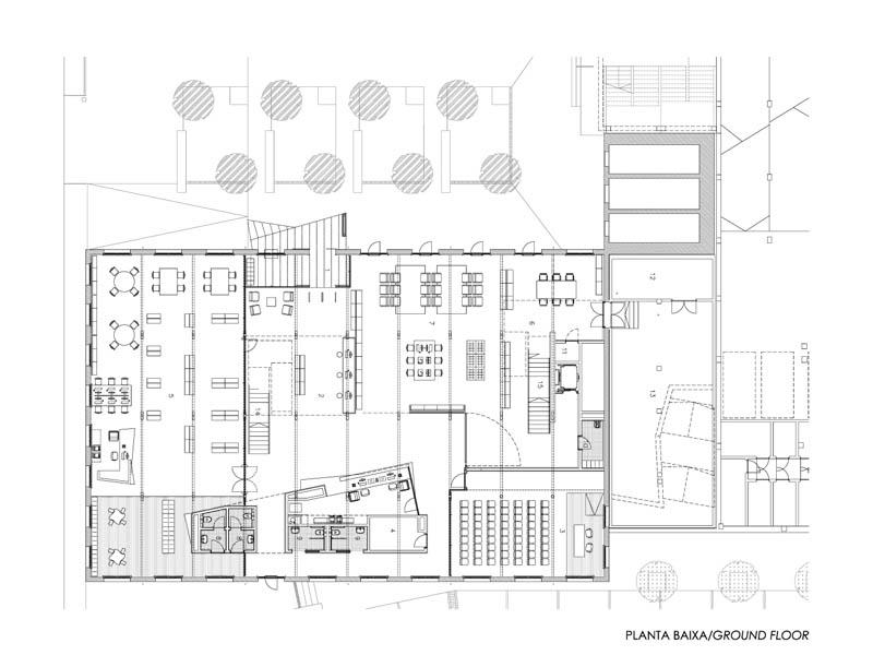 Fotografia de Arquitectura Biblioteca-Can Manyer-Dilme-Fabre-doc-02