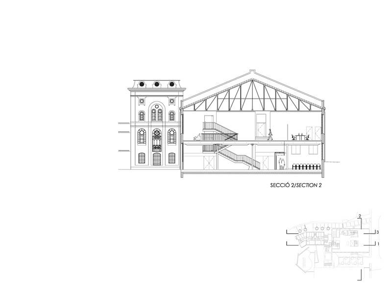 Fotografia de Arquitectura Biblioteca-Can Manyer-Dilme-Fabre-doc-05