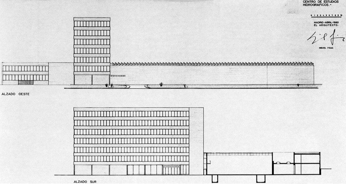Fotografia de Arquitectura Centro Hidrograficos-2