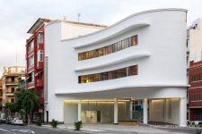 Fotografia de Arquitectura Cafeteria antigua estacion servicio Disa-03-SG1658a_6520