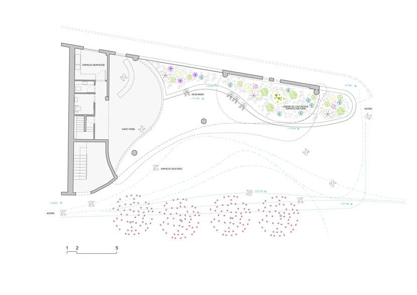 Fotografia de Arquitectura Cafeteria antigua estacion servicio Disa-doc-02
