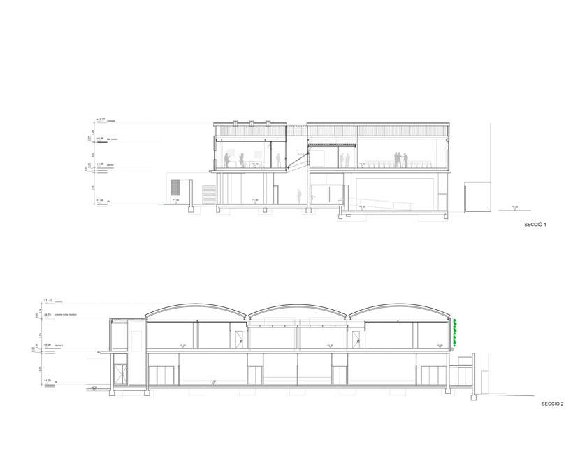 Fotografia de Arquitectura Centre-Cívic-Joan-Oliver-Pere Quart-doc-06