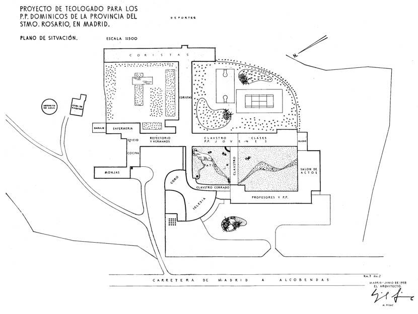 Fotografia de Arquitectura Iglesia de los Dominicos-Fisac-doc-01