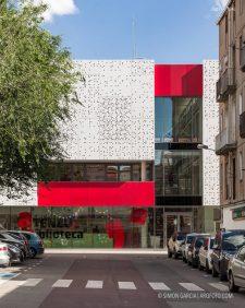 Fotografia de Arquitectura Biblioteca Salvador Vives Casajuana-Batllori & Trepat-01-SG1744_5646