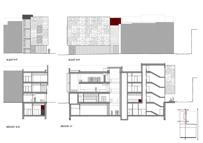 Fotografia de Arquitectura Biblioteca Sant Vicenç de Castellet-doc-04