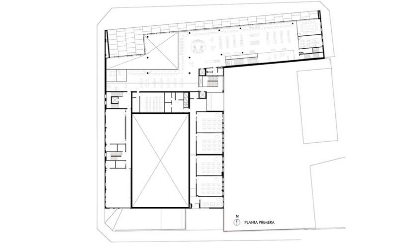 Fotografia de Arquitectura Centre-Cultural-Mont-Agora-Santa-Margarida-de-Montbui-doc-01