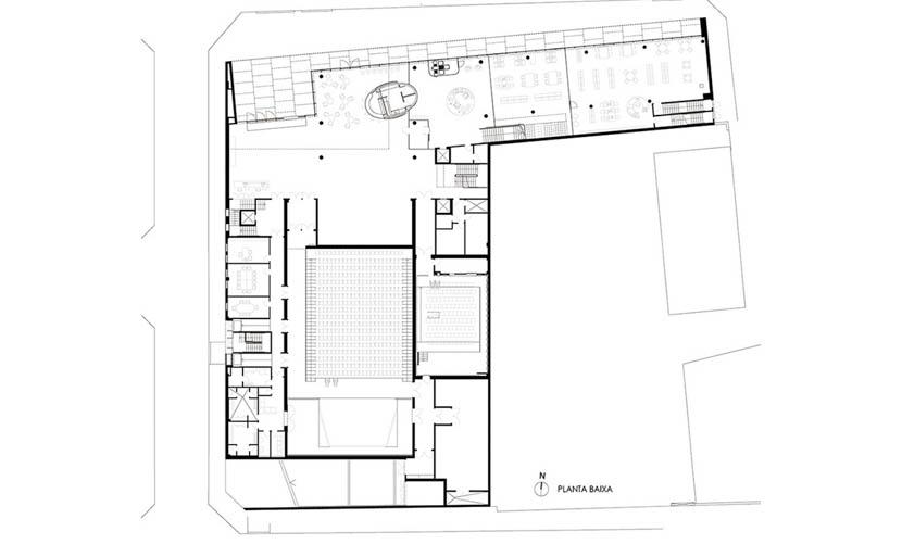 Fotografia de Arquitectura Centre-Cultural-Mont-Agora-Santa-Margarida-de-Montbui-doc-02