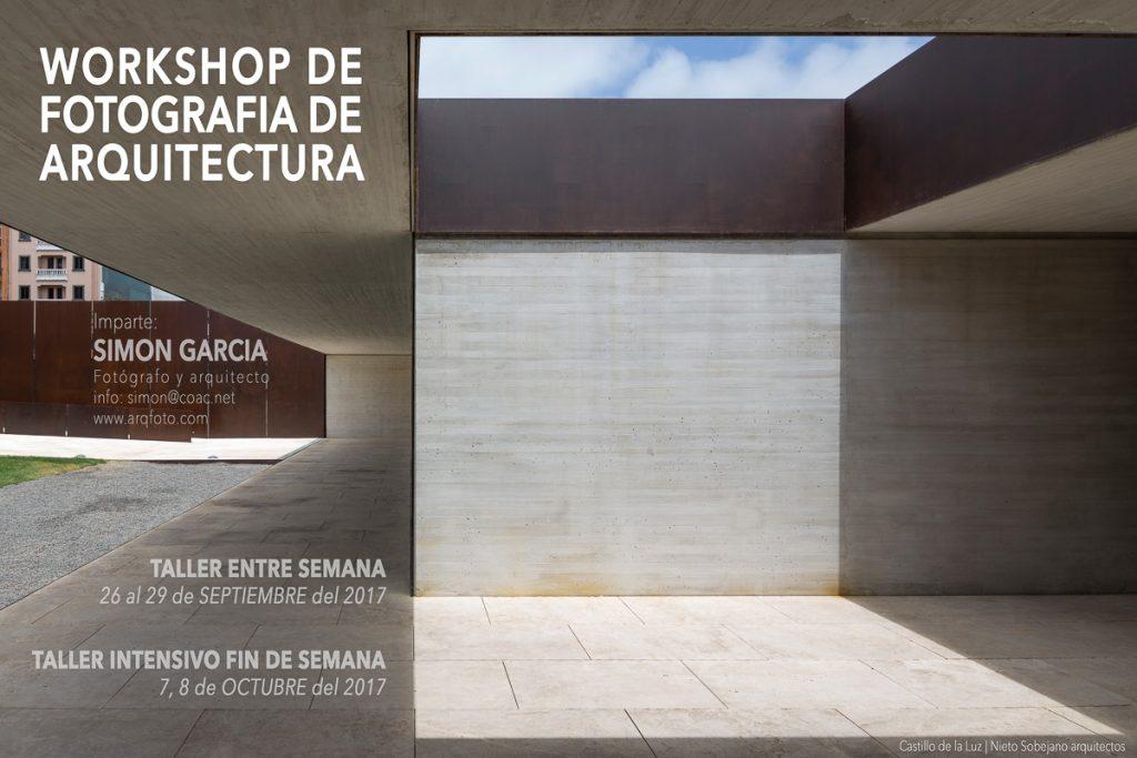 Fotografia de Arquitectura Cartel taller fotografia arquitectura
