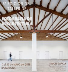 Fotografia de Arquitectura Cartel 5 taller fotografia arquitectura