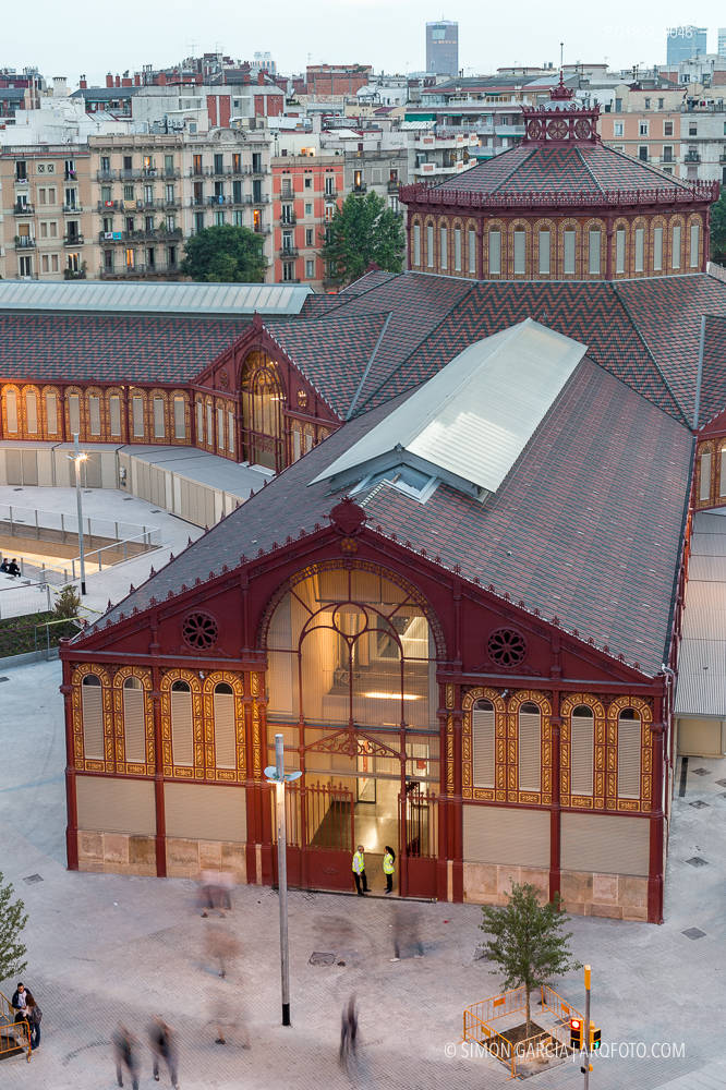 Fotografia de Arquitectura Mercat-de-Sant-Antoni-Ravetllat-Ribas-52-SG1829_8046