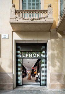 Fotografia de Arquitectura Sephora Passeig de Gracia Barcelona-01-SG2137_8752