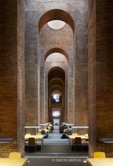 Biblioteca Depósito de las Aguas. Fotografia de arquitectura de Simon Garcia arqfoto