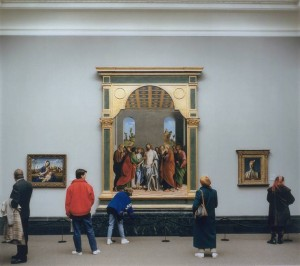 National Gallery I, London 1989 1989 by Thomas Struth born 1954