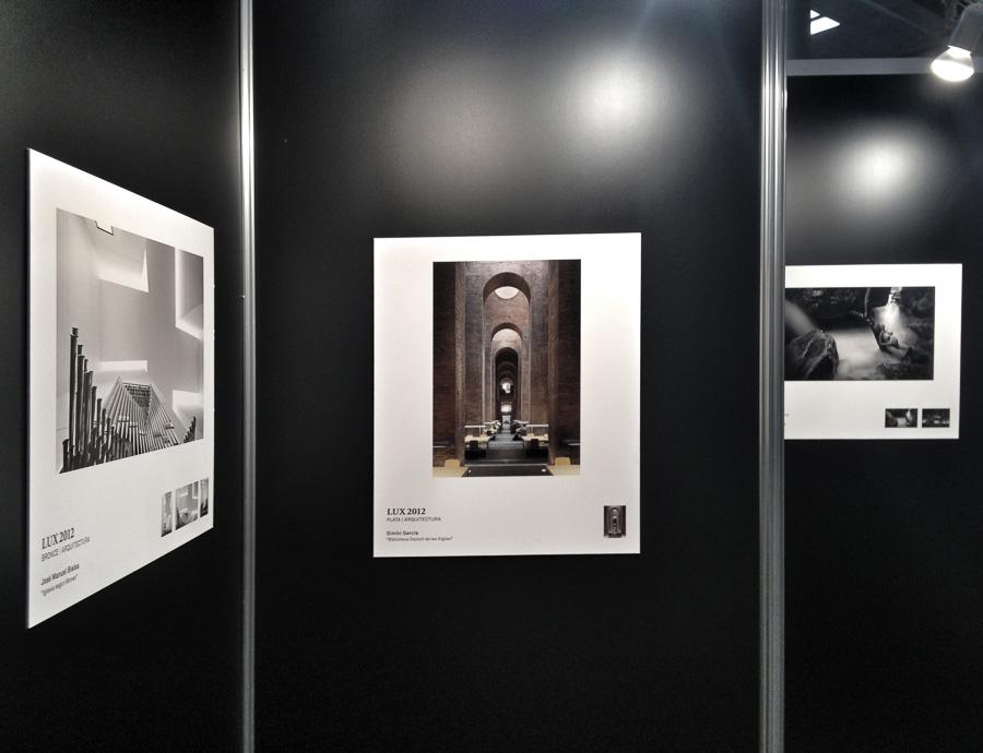Sonimagfoto 2013. Expo Premios LUX de la AFPE