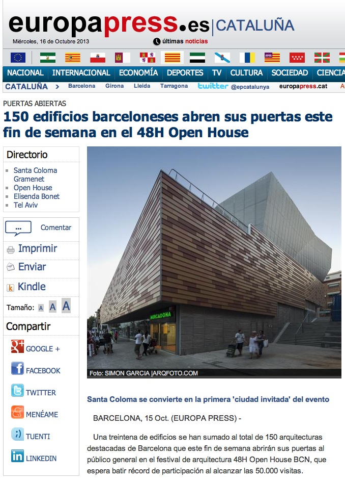 48h open house Santa Coloma