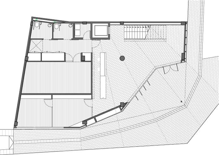 fotografia de arquitectura centro-social-ca-lanita-roses-planta-baja