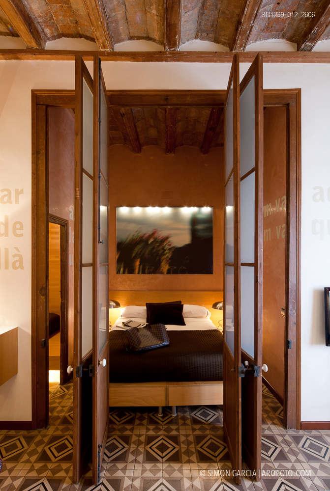 Fotografia de Arquitectura Apartamentos-Casa-de-les-Lletres-AAGF-arquitectos-SG1239_012_2606