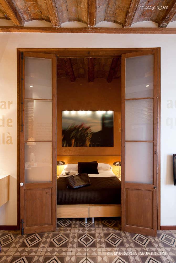 Fotografia de Arquitectura Apartamentos-Casa-de-les-Lletres-AAGF-arquitectos-SG1239_013_2605